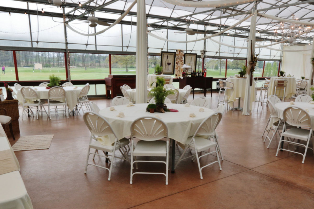 The Greenhouse At Vista Weddings Receptions Banquests Parties 3