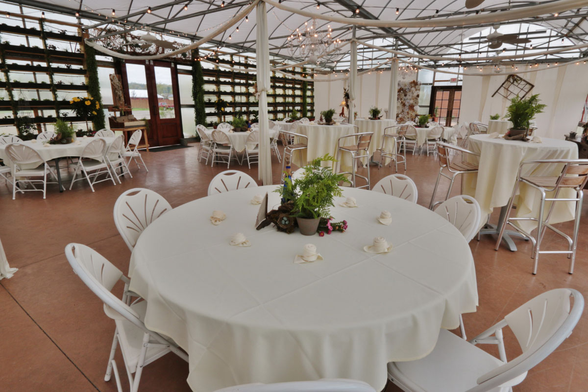 The Greenhouse At Vista Weddings Receptions Banquests Parties 4