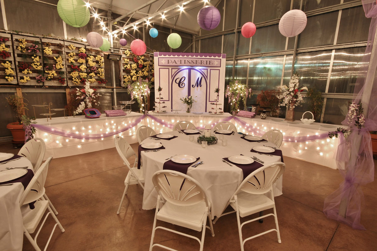 The Greenhouse At Vista Weddings Receptions Banquests Parties 9